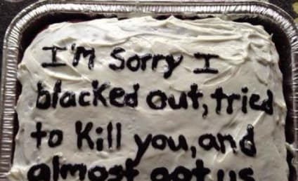 29 Brutally Honest Message Cakes: My Bad on the Herpes!