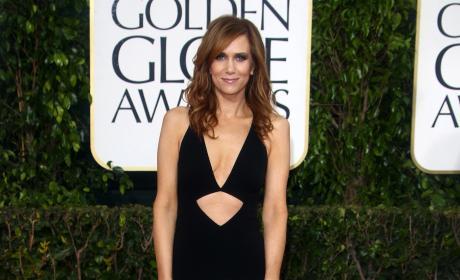 Kristen Wiig at the Golden Globes