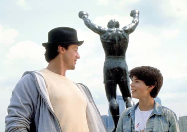 Sage Stallone in Rocky V