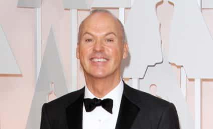 Michael Keaton: Caught Pocketing Oscar Speech After Eddie Redmayne Win?