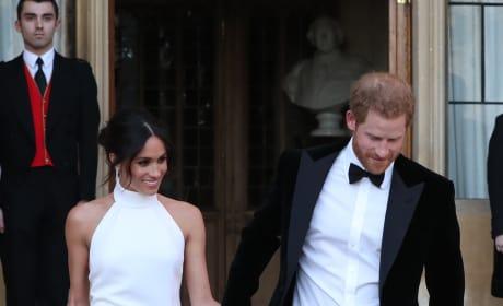 The Royal Newlyweds!