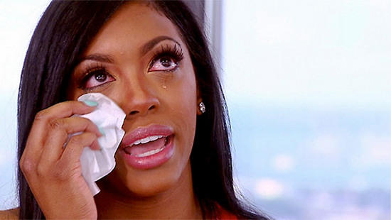 Porsha Williams Crying