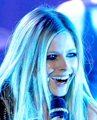Avril Lavigne on Stage