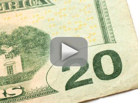 Drunk Man Uses $20 Bill as Cell Phone