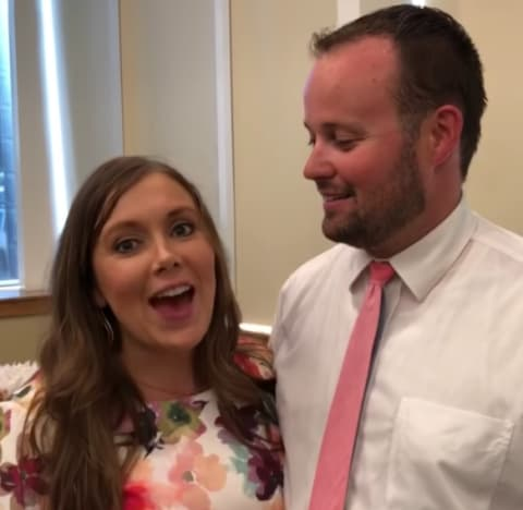 Anna and Josh Duggar Throwback