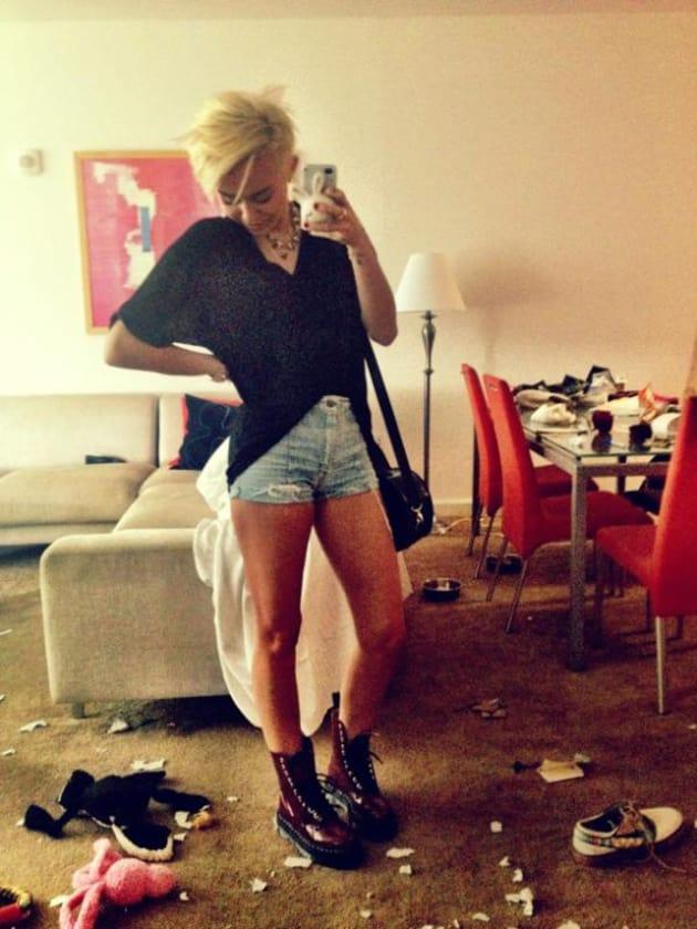 Miley Cyrus at Home