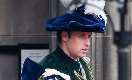 Prince William: Knighted in Scotland!