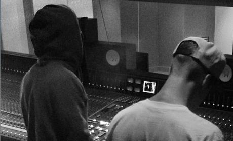 Lil Wayne and Justin Bieber Do Music