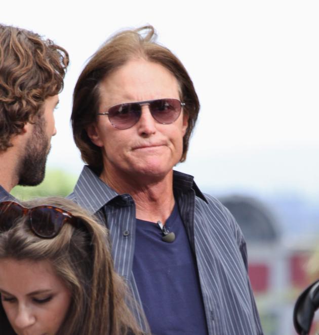 Bruce Jenner Scowls