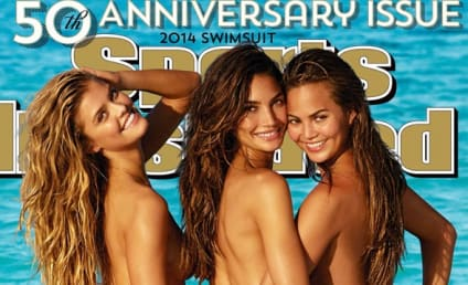 2014 Sports Illustrated Swimsuit Issue Cover Girl(s): Nina Agdal, Lily Aldridge, and Chrissy Teigen!