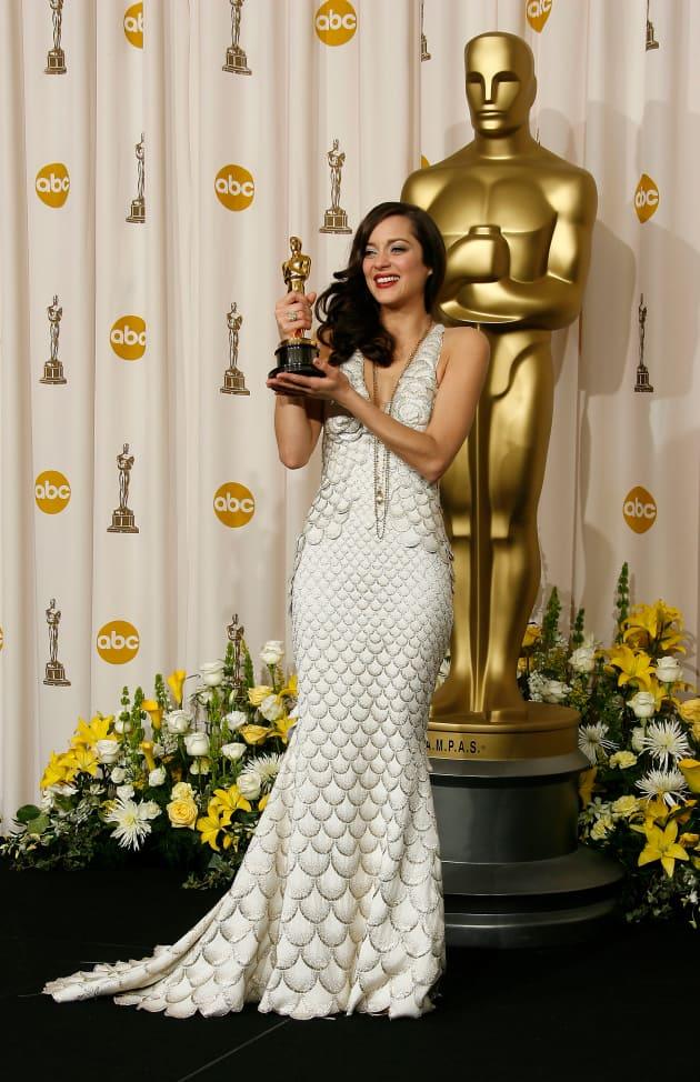 Oscar 2008 marion cotillard with a pervert - 1 part 7