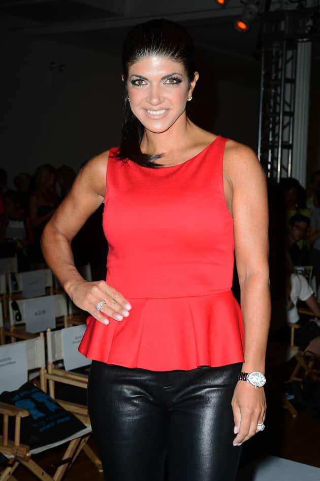 Teresa Giudice in Red