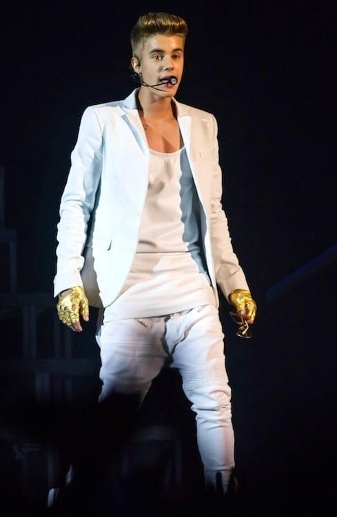 Justin Bieber Concert Photograph