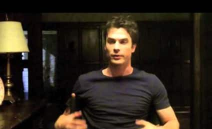 Ian Somerhalder Previews The Vampire Diaries Season 5, Asks Fans to Give Back
