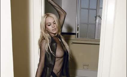 Lindsay Lohan Looks to Score Free Swag