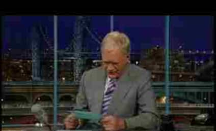 David Letterman Addresses Sarah Palin Controversy