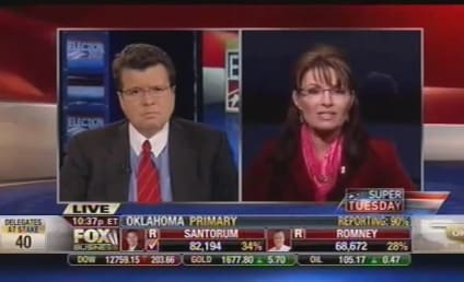Sarah Palin Votes For, Endorses Newt Gingrich; Takes Shot at Mitt Romney