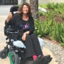 Abby Lee Miller in a Wheelchair