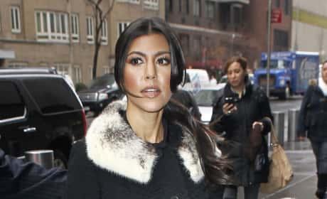 Kourtney Kardashian, Trench Coat