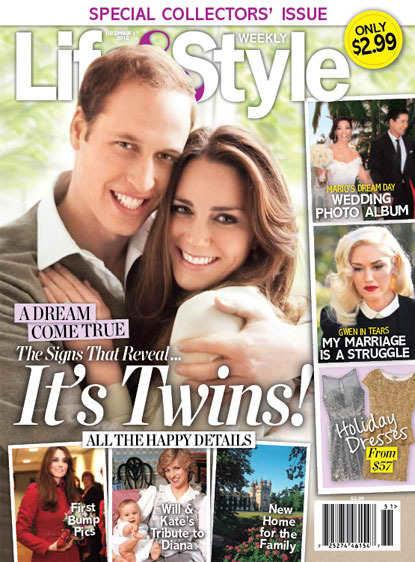 Kate Middleton: Twins!