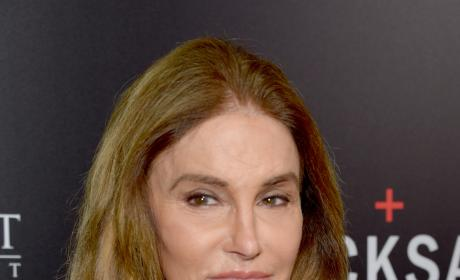 Caitlyn Jenner with a Smirk