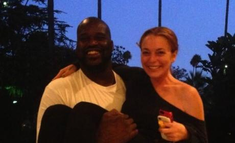 Lindsay Lohan, Shaquille O'Neal