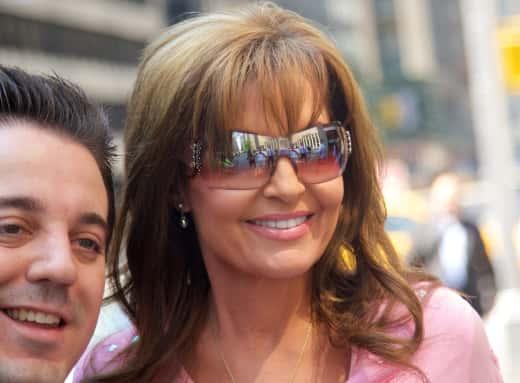 Sarah Palin in New York