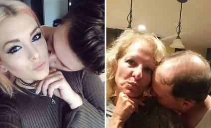 Amazing Parents Troll Daughter, Recreate Facebook Selfies