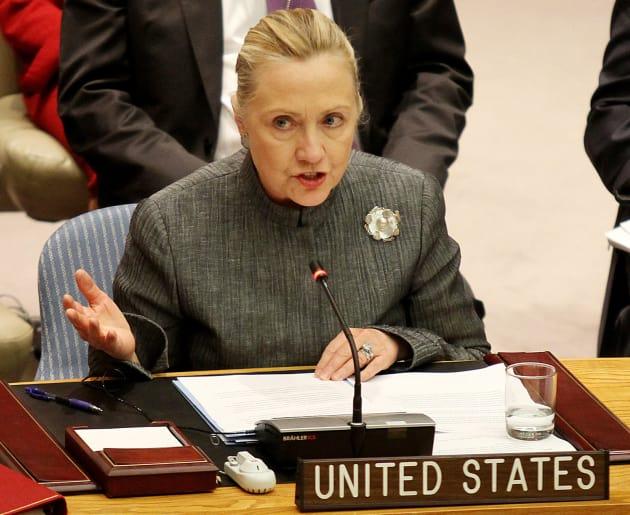 Hillary Clinton at the UN