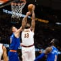 Tristan Thompson Dunk!