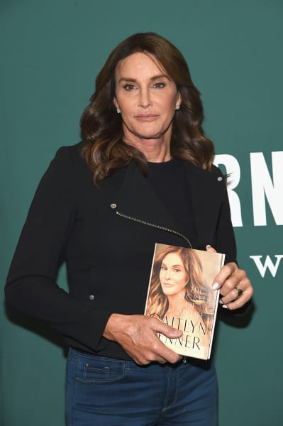 Caitlyn Jenner and her memoirs
