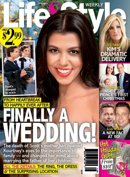 Kourtney Kardashian Wedding Story
