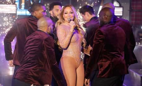 Mariah Carey Butchers New Year's Eve Performance: Twitter Reacts!