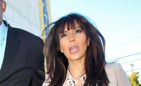Kim Kardashian, Looking Pregnant
