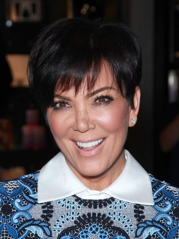 Kris Jenner with a Smile