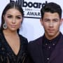 Olivia Culpo and Nick Jonas on the Red Carpet