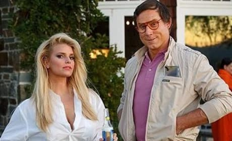 Jessica Simpson, Eric Johnson Halloween Costume Photo