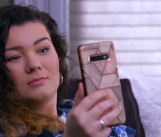 Amber Portwood Speaks on the Phone