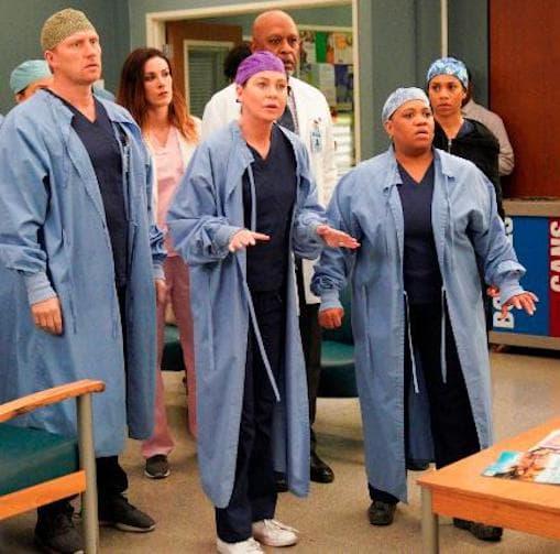 Greys anatomy finale scene