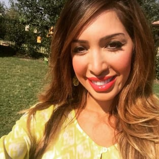 Farrah Abraham Church Selfie