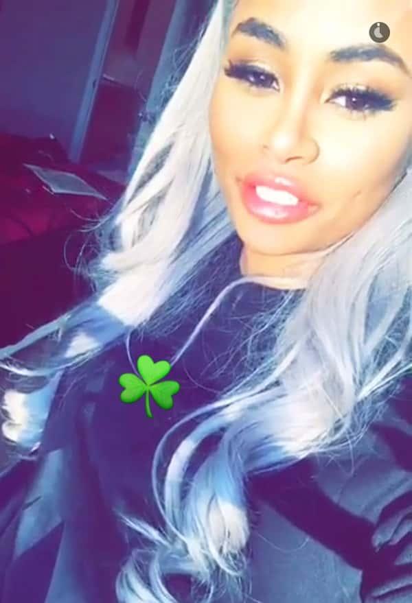 Blac Chyna on Snapchat