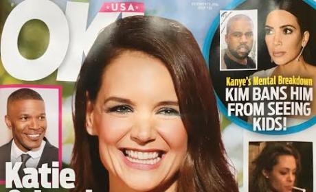 Katie Holmes Pregnant Claim