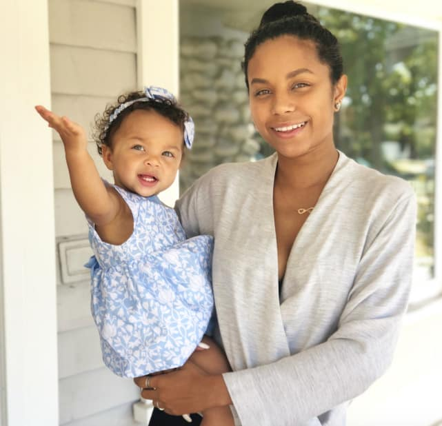 Cheyenne floyd and daughter