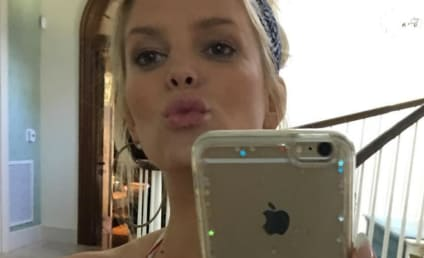 Jessica Simpson and Her Cleavage Wish You Happy Summer