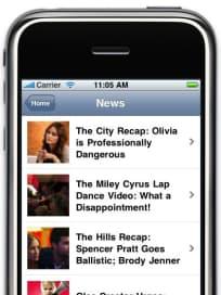 News Screen Shot