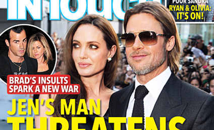 Justin Theroux to Brad Pitt: I Will F--k You Up!