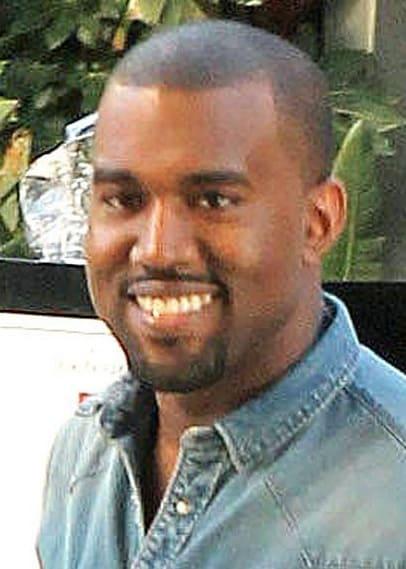 Kanye Smiles