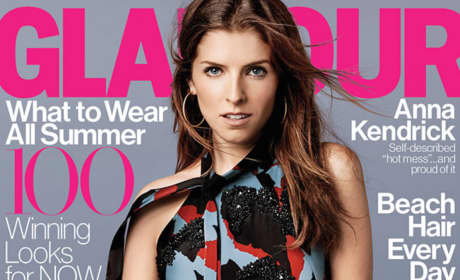 Anna Kendrick Glamour Cover