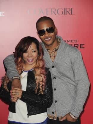 T.I. at Catching Fire Premiere