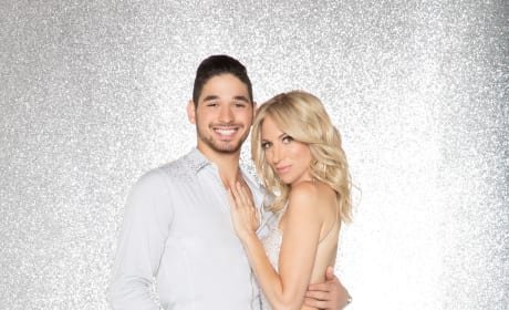 Debbie Gibson and Alan Bersten